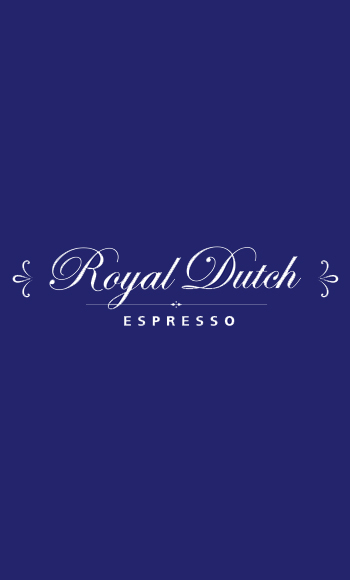Royal Dutch espresso logo op blauw.jpg